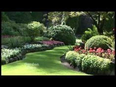 Butchart Garden Tour - Garden Time TV. #butchartgardens #explorebc #explorevictoria #gardens