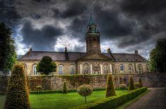The Royal Hospital in Kilmainham, Dublin - now the Irish Museum of Modern Art