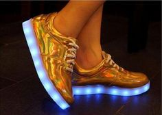 Led USB 7color Light Women Men holographic Sneaker Dance Casual Sports Shoes | eBay