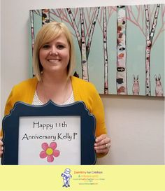 Wishing Kelly P a very happy 11th anniversary! #dfcadent #dentistry #thankyou #ourteamrocks #11years #workanniversary