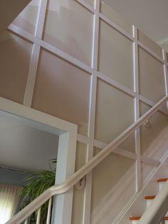 Hallway Molding Ideas | Stair Molding Ideas http://www.thequaintcottage.net/2011/07/update-on ...
