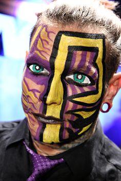 Jeff Hardy makeup