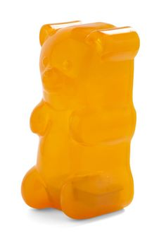 Giant illuminated gummi bear from ModCloth.