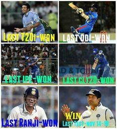 Sachin Winning it all the Way | Whatsapp Forwards