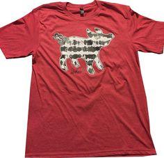 Tie Dye T-Shirt Tee Piggy Arkansas Southern Pig by ladylinenco
