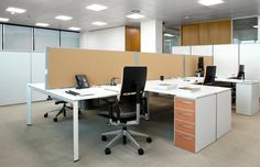 GE Corporate decided to replace all its fluorescent bulbs with GE Lighting's Lumination™ LED luminaire in its Madrid headquarters to achieve greater energy savings Workspace Inspiration, Office Lighting, Light Project, Led, Table, Projects, Furniture, Home Decor, Light Fixture