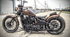 honda shadow vlx bobber by tail end customs - bikerMetric