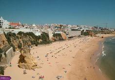 albufeira beach Portugal