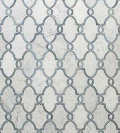 Walker Zanger Jet Set Tile - Oasis Color Carrara White (backsplash maybe? Walker Zanger, Brick And Stone, Stone Tiles, Tile Design, Jet Set, Home Remodeling, Interior Decorating, Interior Design, Shower Niche