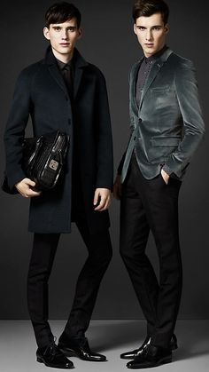 Burberry Autumn/Winter 2012 Menswear