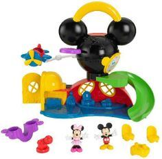 Disney Mickey Mouse: Fly N Slide Clubhouse by Fisher Price