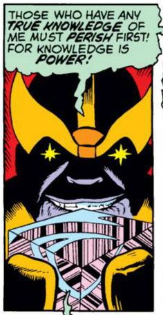 Thanos channeling some Schoolhouse Rock, Jim Starlin, Captain Marvel Comic Book Characters, Comic Character, Comic Books Art, Book Art, Marvel Villains, Marvel Comics, Galactus, Thanos Avengers, Scary Snakes