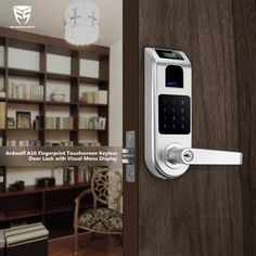 Use a keyless smart door lock to restrict access to your study.