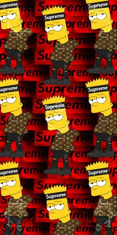 Supreme Iphone Wallpaper, Simpson Wallpaper Iphone, Funny Phone Wallpaper, Cartoon Wallpaper, Cool Wallpaper, Tupac Wallpaper, Deadpool Wallpaper, Graffiti Wallpaper, Simpsons Drawings