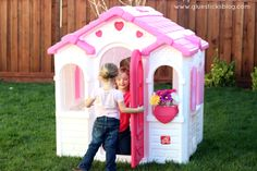 A Darling Sisters' Retreat: Step2 Sweetheart Playhouse Giveaway!