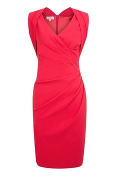 PINK FAUX WRAP DRESS http://www.weddingheart.co.uk/kaliko---mother-of-the-bride-outfits.html