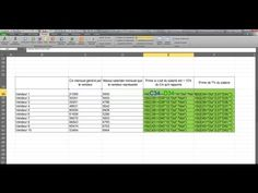 Tuto l Les bases d'Excel en 5 minutes, très facile ! - YouTube Agenda Organization, Microsoft Excel, Periodic Table, Internet, Aide, Words, Iphone, Office Automation, Software