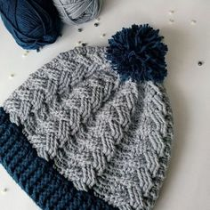 Crochet Cable Beanie - Free Pattern