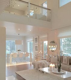 ✔ 55 best house interior design to transfrom your house 38 Related Clean Living Rooms, Home Living Room, Living Room Designs, Living Room Decor, Dining Room, Dream Home Design, Modern House Design, Luxury Homes Interior, Home Interior Design