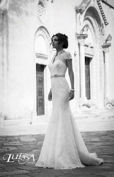 e822f777cc81 Luisa sposa present wedding dresses collection Luisa 01