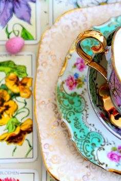 Tea cup and plate