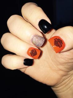 Harley Davidson nails