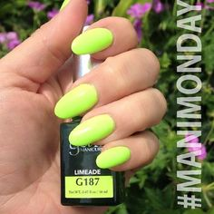 Flash back to yesterday's #ManicureMonday with a sweet Limeade mani from the Beach Boardwalk collection. #Repost from @gel2australia.  BB is available on Wednesday! Stay tuned!  #gel2 #geltwo #gelii #gel2art #BeachBoardwalk #SummerNeons #gelpolish #notd #nailsoftheday #nails #manicure #pedicure #nailsdid #nailart #neon