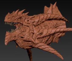 Dragon Tutorial - 3DTotal Forums