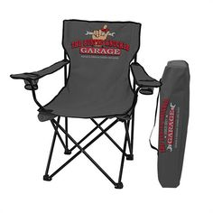 Busted Knuckle Garage BKG-70065 Lawn Chair  sc 1 st  Pinterest & New Unique Kingpin Giant/Oversized Red Folding Lawn Chair 5u0027 6 ...