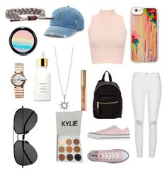 """""""Summer❓"""" by kenzie4ever11 on Polyvore featuring Casetify, WearAll, River Island, Converse, Madden Girl, Mudd, Kylie Cosmetics, Rastaclat, Gucci and Yves Saint Laurent"""