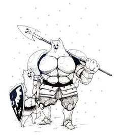 undertale greater dog - Google Search