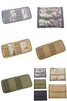 [Visit to Buy] 12 Rifle Cartridge Padded Holder Carrier 30-06 Shotgun Cartridge Wallet Hunting Accessory Escopetas De Caceria Gun Caza #Advertisement