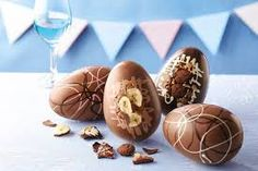 Image result for children and chocolate easter eggs
