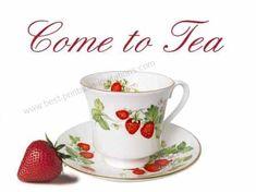 . Tea Party Invitations, Printable Invitations, Strawberry Tea, Christmas Tea, Diy Party Decorations, Christmas Printables, High Tea, Afternoon Tea, Tea Time