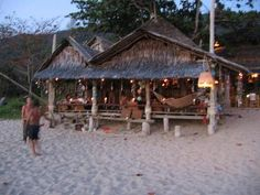 Last Beach Resort, Koh Lanta, Thailand. Fresh fish for dinner every night and the most beautiful sunsets I've ever seen.