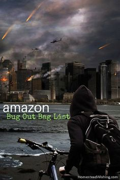 Put a bug out bag together only using Amazon. This list has items for men, women, and children. Check out the Amazon bug out bag list today.