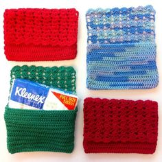 Things Bright shared a free #crochet pattern for a vintage inspired tissue holder