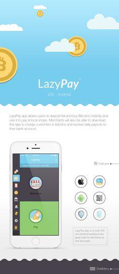 https://www.behance.net/gallery/26088421/LazyPay-app?