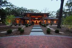 Exterior brick facade Design Ideas, Pictures, Remodel and Decor