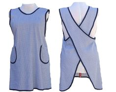 Plus Size Apron Smock No Ties Full Coverage by timelessaprons, $40.00