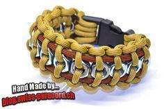 Hex Nut paracord bracelet tutorial