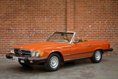 My favorite car in my favorite color!  Mercedes Motoring - 1978 450SL Roadster/Coupe