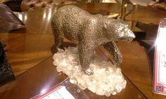 Brass Polar bear Maitland Smith, Polar Bear, Home Furnishings, Brass, Traditional, Design, Home Decor, Style, Swag