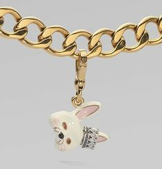 Juicy Couture Bunny Mask Charm