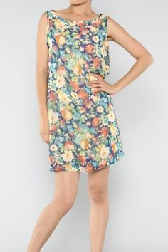 salediem.com best of the boutiques but even better prices,  Shipping is FREE. Bow Floral Dress