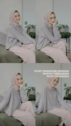 Casual Hijab Outfit, Ootd Hijab, Hijab Chic, Casual Outfits, Muslim Fashion, Modest Fashion, Hijab Fashion, Girl Fashion, Fashion Outfits