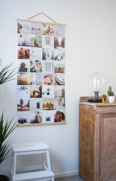 30 Spectacular Polaroid Photo Display Ideas To Fill Your Home With - HomelySmart Diy Bedroom Decor, Diy Home Decor, Photowall Ideas, Photo Deco, Hanging Photos, Diy Interior, Photo Displays, Home Living Room, Decoration