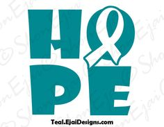 Gynecologic Ovarian Cervical Cancer Scleroderma by EjaiDesigns