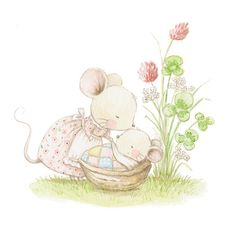 Aida Zamora - Ilustración infantil para vinilos, cuadros, cuentos infantiles...