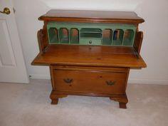 Butler Secretary Desk
